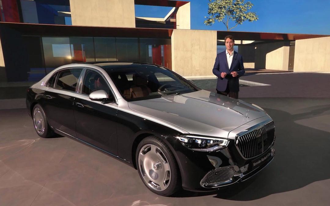 Digitale Weltpremiere Mercedes-Maybach S-Klasse
